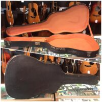 """Acoustic guitar case 40 1/2""""x14 3/4"""" - $65"""