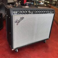 1981 Fender Twin Reverb w/footswitch - $750 (previous owner installed Eminence Patriot Texas Heat speakers)