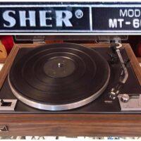 1977-1979 Fisher MT-6010 belt drive turntable - $150